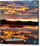 Surise On Lake Powell Acrylic Print