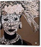 Surma Girl Acrylic Print