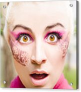 Surprised Face Acrylic Print