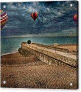 Surreal Beach Acrylic Print