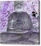 Surreal Buddha Acrylic Print