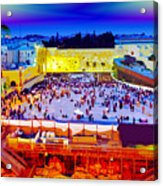 Surreal Jerusalem Art Acrylic Print