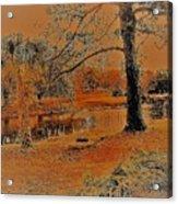 Surreal Langan Park 2 - Mobile Alabama Acrylic Print
