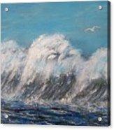 Surreal Tsunami Acrylic Print