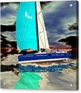 Surrealist Ocean Acrylic Print