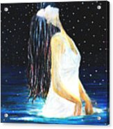 Surrender Acrylic Print by NARI - Mother Earth Spirit