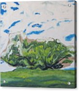 Surrounded With Clouds Acrylic Print