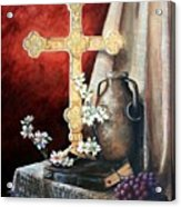 Survey The Wonderous Cross Acrylic Print