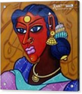 Suryakala Acrylic Print
