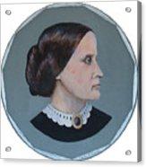 Susan B Anthony Coin Acrylic Print