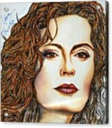 Susan Sarandon Acrylic Print by Joseph Lawrence Vasile