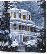 Susanville Elks Lodge At Christmas Acrylic Print