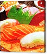 Sushi Plate 1 Acrylic Print