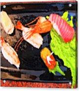 Sushi Plate 2 Acrylic Print