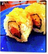 Sushi Plate 3 Acrylic Print