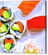 Sushi Plate 6 Acrylic Print