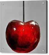 Suspended Cherry Acrylic Print