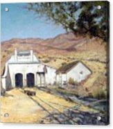Sutro Nevada Acrylic Print by Evelyne Boynton Grierson
