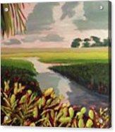 Suwanee River Delta Acrylic Print