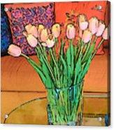 Suzannes Flowers Acrylic Print
