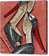 Suzette Loves Her Louboutins Acrylic Print