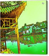 Suzhou Grand Canal Acrylic Print