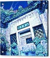 Suzhou Rooftop Acrylic Print