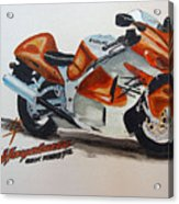 Suzuki Hayabusa Acrylic Print