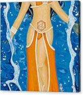 Svadhishthana Sacral Chakra Goddess Acrylic Print