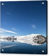 Svalbard Reflection 1 Acrylic Print
