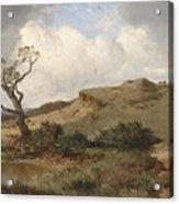 Swabian Landscape Acrylic Print