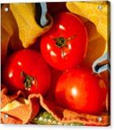 Swaddled Tomatoes Acrylic Print