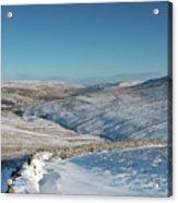 Swaledale In Winter Acrylic Print