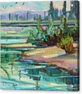 Swallowtail Riverside Acrylic Print