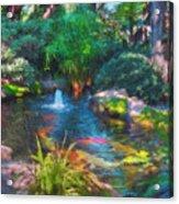 Swamis Garden 2 Acrylic Print