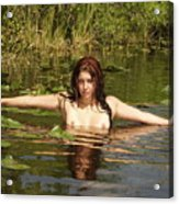 Swamp Beauty Two Acrylic Print