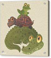 Swamp Squad Acrylic Print
