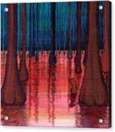 Swamp Veins Acrylic Print