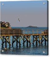 Swampscott Pier Swampscott Ma Acrylic Print