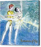 Swan Lake Ballet Poster Acrylic Print