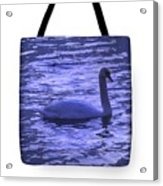 Swan Lake-tote Bag Acrylic Print