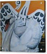Swan Totem Acrylic Print