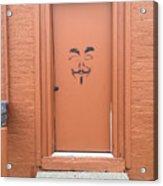 Swann Door Acrylic Print