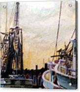 Swansboro Shrimp Boats Acrylic Print