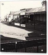 Swansea - Vetch Field - North Bank 1 - Bw - 1960s Acrylic Print