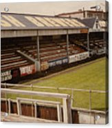 Swansea - Vetch Field - North Bank 2 - 1970s Acrylic Print