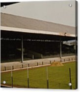 Swansea - Vetch Field - South Stand 2 - 1970s Acrylic Print