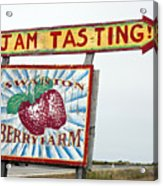 Swanton Berry Farm Davenport Acrylic Print