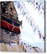 Swayambhunath II Acrylic Print