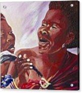Swaziladies Acrylic Print